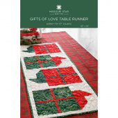 Gifts of Love Table Runner Quilt Pattern by Missouri Star