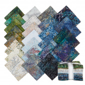 Artisan Batiks - Twilight Snowfall Metallic Fat Quarter Bundle