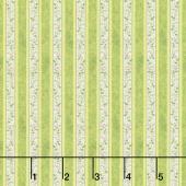 Renaissance - Renaissance Stripe Green Yardage