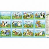 Garden Gathering - Book Multi Panel
