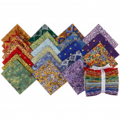 Gustav Klimt New Colors Metallic Fat Quarter Bundle