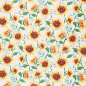 Sundance Meadow - Large Allover Cream Yardage