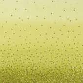 Ombre Confetti - Lime Green Metallic Yardage