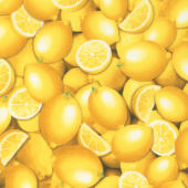 Lemon Fresh - Fresh Lemons Yellow Yardage