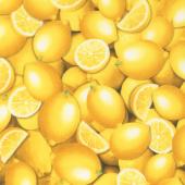 Lemon Fresh - Fresh Lemons Yellow Yardage
