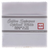 Cotton Supreme Solids Optical White Charm Pack