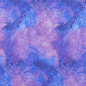 Pansy Paradise - Pansy Marbled Purple Yardage