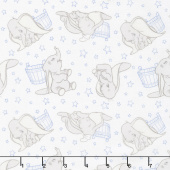 Dumbo - Stars Dark Blue Yardage