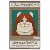 American Curl Cat Precut Fused Appliqué Pack