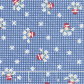 Gretel - Gingham Denim Yardage