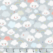 Stellar Baby - Cutie Clouds Moonbeam Yardage