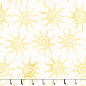 Forget Me Not Batiks - Sun Sunshine Yardage