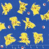 Pokemon - Pikachu Blue Yardage