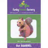 Sue the Squirrel Funky Friends Factory Pattern