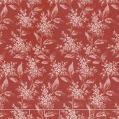 Sensibility - Tonal Lilacs Soft Red Yardage