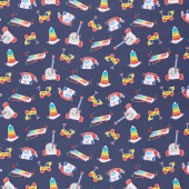 Fisher-Price - Toys Navy Yardage