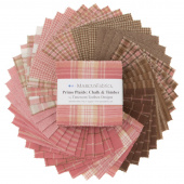 Primo Plaids Chalk & Timber Yarn Dyed Flannel Charm Pack