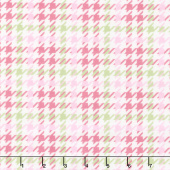 Cozy Cotton Flannels - Sweet Plaid Pink Yardage