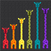Giraffes in a Row Kit