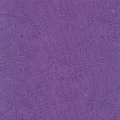 Peacock Flourish - Opulence Tonal Dark Purple Yardage