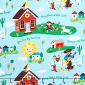 Nursery Rhymes - Daytime Multi Yardage