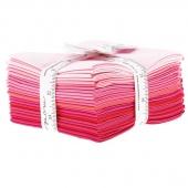 The Colors of Moda - Pinks Fat Quarter Bundle