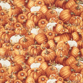 Pumpkin Patch - Packed Pumpkins Yardage