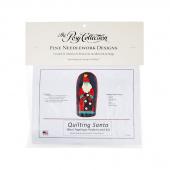 Quilting Santa Wool Felt Figurine Kit