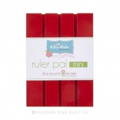 Ruler Pal Mini Red
