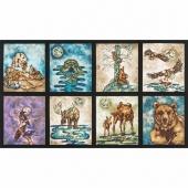 Wilderness Expressions - Animal Adventure Panel