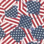 American Valor - Flag Toss Multi Yardage