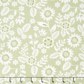Sugar Pie - Lace Garden Green Yardage