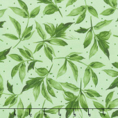 Prose - Leaves Light Green Yardage