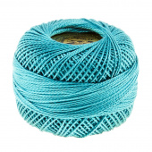 Presencia Perle Cotton Thread Size 8 Very Dark Turquoise