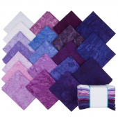 Lava Batik Solids - Royalty Fat Quarter Bundle