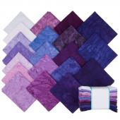 Lava Batik Solids - Royalty Fat Quarter Bundle