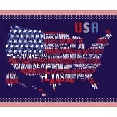 Patriotic Pride - USA Navy Panel