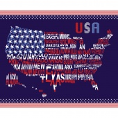 Patriotic Pride - USA Navy Panel
