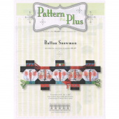 Button Snowman Table Runner Pattern Pak Plus