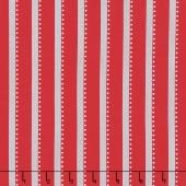 Bree - Stripe Red Yardage