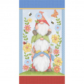 Gnome is Where Your Garden Grows - Garden Gnome Multi  Panel