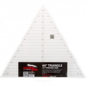 "Creative Grids 60 Degree Triangle 12 1/2"" Ruler"
