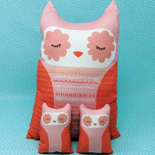 Cut Sew Create - Forest Animals Plushies Kit