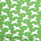 Nursery Rhymes - Lambs Green Yardage