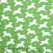 Nursery Rhymes - Lambs Green Yardage