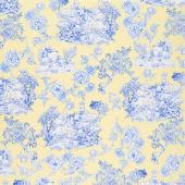 Maison Des Fleurs - Toile Garden Yellow Yardage