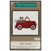 Fire Truck Precut Fused Appliqué Pack