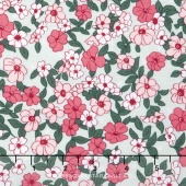Wonderland 2 - Floral Mint Yardage
