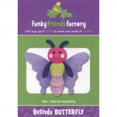 Belinda Butterfly Funky Friends Factory Pattern