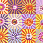 Kaffe Fassett Collective Fall 2017 - Sunrise Sunburst Bright Yardage